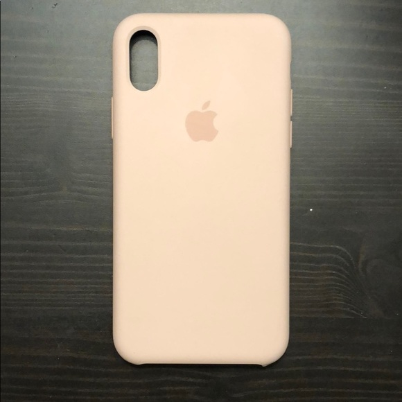 huge discount 3e627 635ad Apple iPhone X Silicone case- Pink Sand